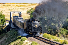 September 5, 2021 - Union Pacific's Big Boy heads to Denver. (Tony's Takes)