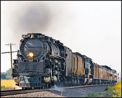 September 7, 2021 - Union Pacific's Big Boy heads home to Cheyenne. (Bill Hutchinson)