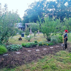 We've been doin lots of landscaping for fall and making the garden a nice place to experience. 🌱🌱 We would love some extra hands helping to get everything freshly mulched, plants some bulbs, and prep the beds for possible brand new ones