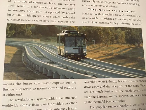 Description of O-Bahn from book 'Adelaide South Australia - a State of Achievement'