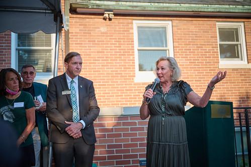 Cowles House Appreciation Reception, Sept. 2021