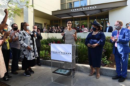Connie Norman Transgender Empowerment Center Ribbon Cutting