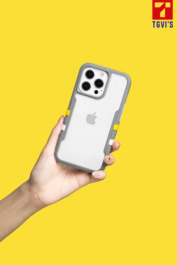 【新聞訊息附圖2】TGVI'S 泰維斯推iPhone13 最新手機保護殼,兼具街頭風格與專利防摔,吹起玩色潮流旋風!