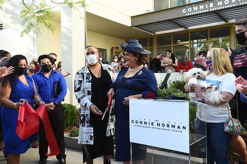 Connie Norman Transgender Empowerment Center Ribbon-cutting