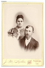 1900 or so - David and Charlotte Berger