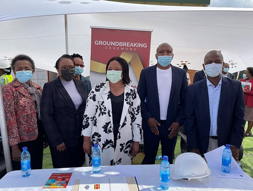 2021 Eswatini - LaMvelase Ground breakind ceremony pics LaMvelase Ground Breaking Ceremony