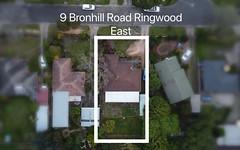 9 Bronhill Road, Ringwood East VIC