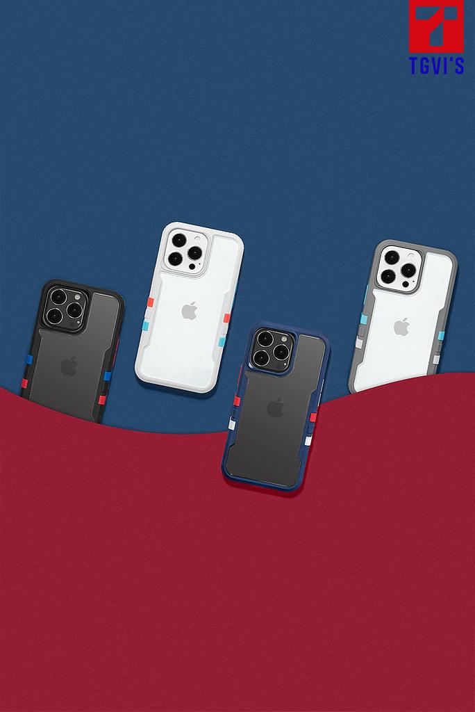【補充圖片素材1】TGVI'S 泰維斯推iPhone13 最新手機保護殼極勁系列