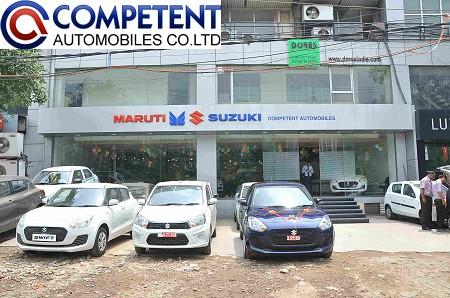 Competent Automobiles – Best Maruti Dealer in New Delhi
