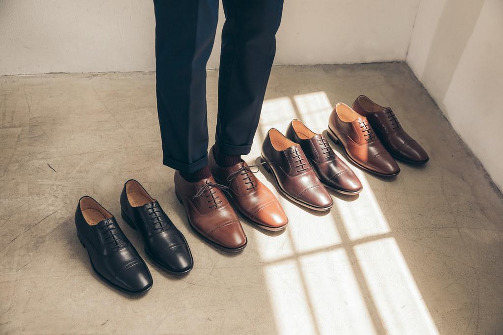 圖1_最實用百搭的牛津鞋  Quarter Brogue 1_4 雕花牛津鞋