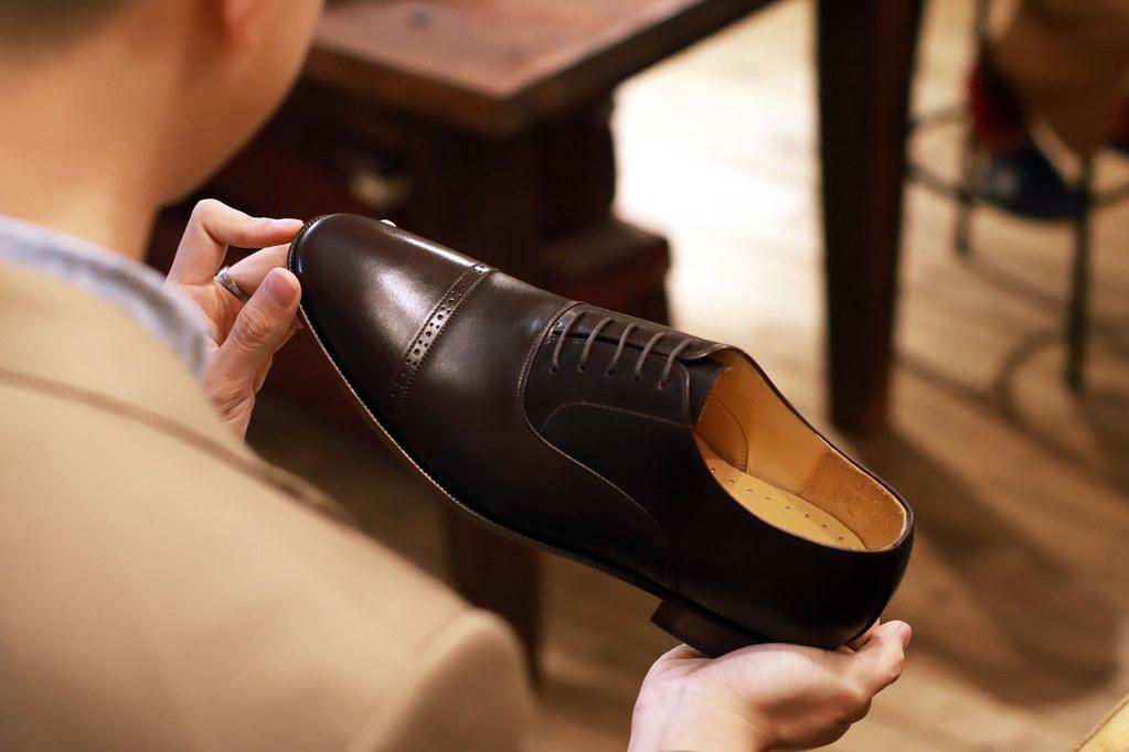 圖4_浩爾:好皮鞋就像好的英文發音,會增加人生的成功率