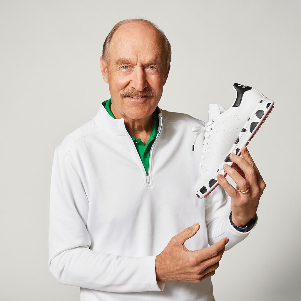 adidas Golf 以「美國乳牛之州」為靈感,與Stan Smith聯手設計限量鞋款,紀念高球「萊德盃」賽事