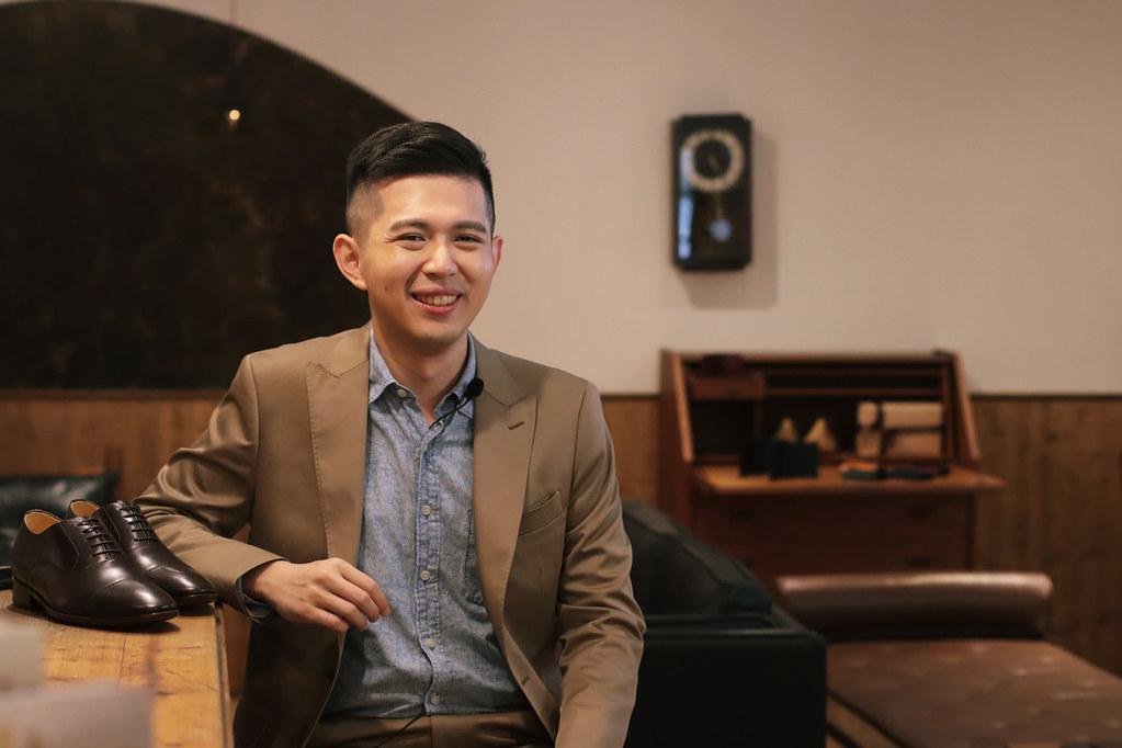 圖2_有行走的翻譯機之稱的浩爾與台灣手工皮鞋品牌林果良品,大方分享後疫情時代重返職場的成功心法