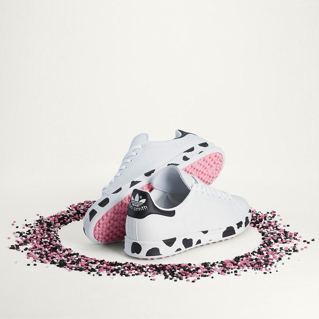 多處細節設計藏「乳牛」,Stan Smith Ryder Cup 鞋款極具巧思且落實環保永續責任
