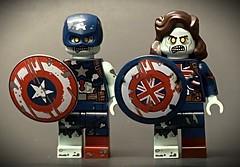 Zombie Captain America & Zombie Captain Carter