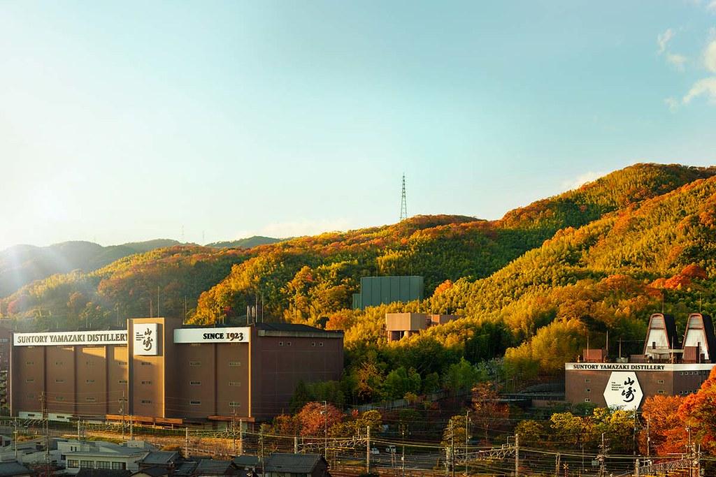 山崎蒸餾廠風景