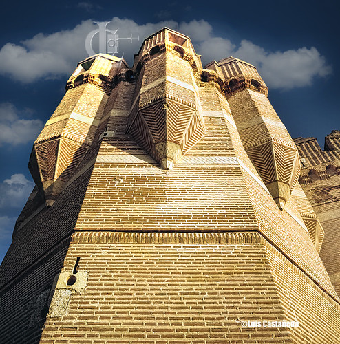The Castle. Coca. (Segovia) Spain.