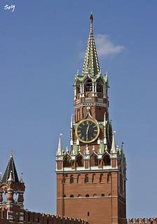 La Torre Spsskaya, Kremlin, Mosc