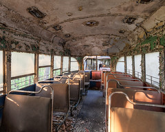 """Vintage Streetcar Interior • <a style=""""font-size:0.8em;"""" href=""""http://www.flickr.com/photos/25078342@N00/51490566952/"""" target=""""_blank"""">View on Flickr</a>"""
