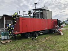 Atemschutz Brandsimulationscontainer Hirschbach 18.9.2021