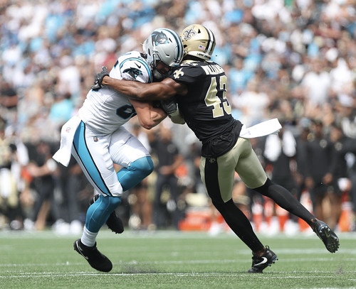 Saints at Panthers 1st half by William E. Anthony (5)