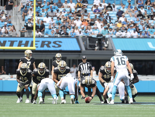 Saints at Panthers 1st half by William E. Anthony (2)