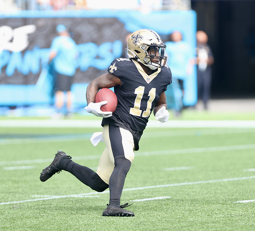 Saints at Panthers 1st half by William E. Anthony (1)