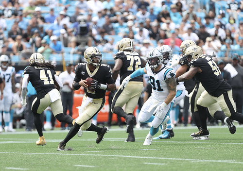 Saints at Panthers 1st half by William E. Anthony (9)