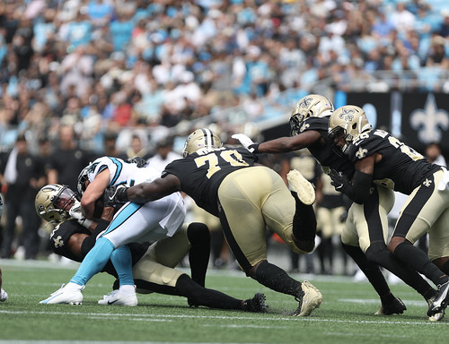 Saints at Panthers 1st half by William E. Anthony (7)