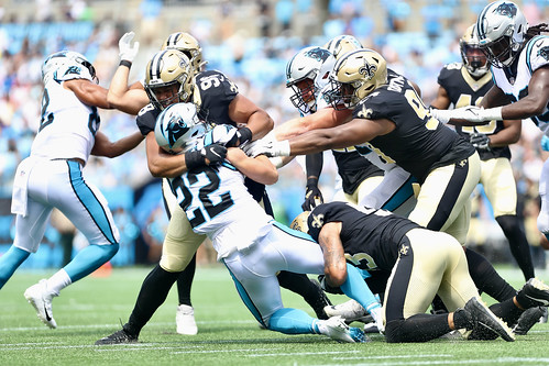 Saints at Panthers 1st half by William E. Anthony (4)