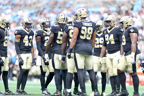 Saints at Panthers 1st half by William E. Anthony (3)