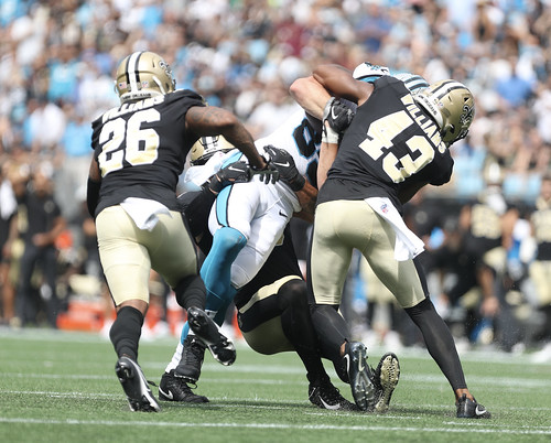 Saints at Panthers 1st half by William E. Anthony (6)