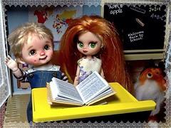 Blythe-a-Day 1. Back to School: Timmy & Lassie