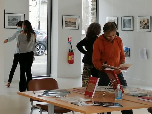Exposition de cartes postales anciennes du village