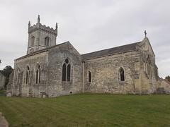 Photo of All Saints Church Saxton Yorkshire