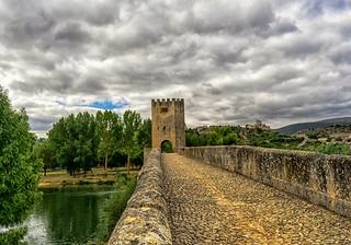 Puente medieval de Fras, Burgos.
