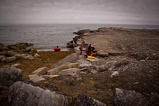 Landing at coast Svalbard @JanMichalek, UIB Norway by EPOS - European Plate Observing System