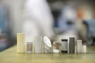 Typical set of samples used in the laboratory by EPOS - European Plate Observing System