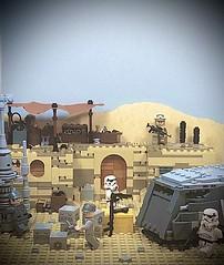 Cargo Drop on Tatooine MOC