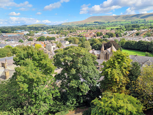 A View from Clitheroe Castle