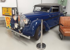 Photo of 1948 Alvis Blue Train Cafe The Motorist Sherburn in Elmet Yorkshire