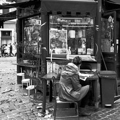 """Rome #28 - Paper & water & cigarettes & coffee <a style=""""margin-left:10px; font-size:0.8em;"""" href=""""http://www.flickr.com/photos/55163873@N06/51504839942/"""" target=""""_blank"""">@flickr</a>"""