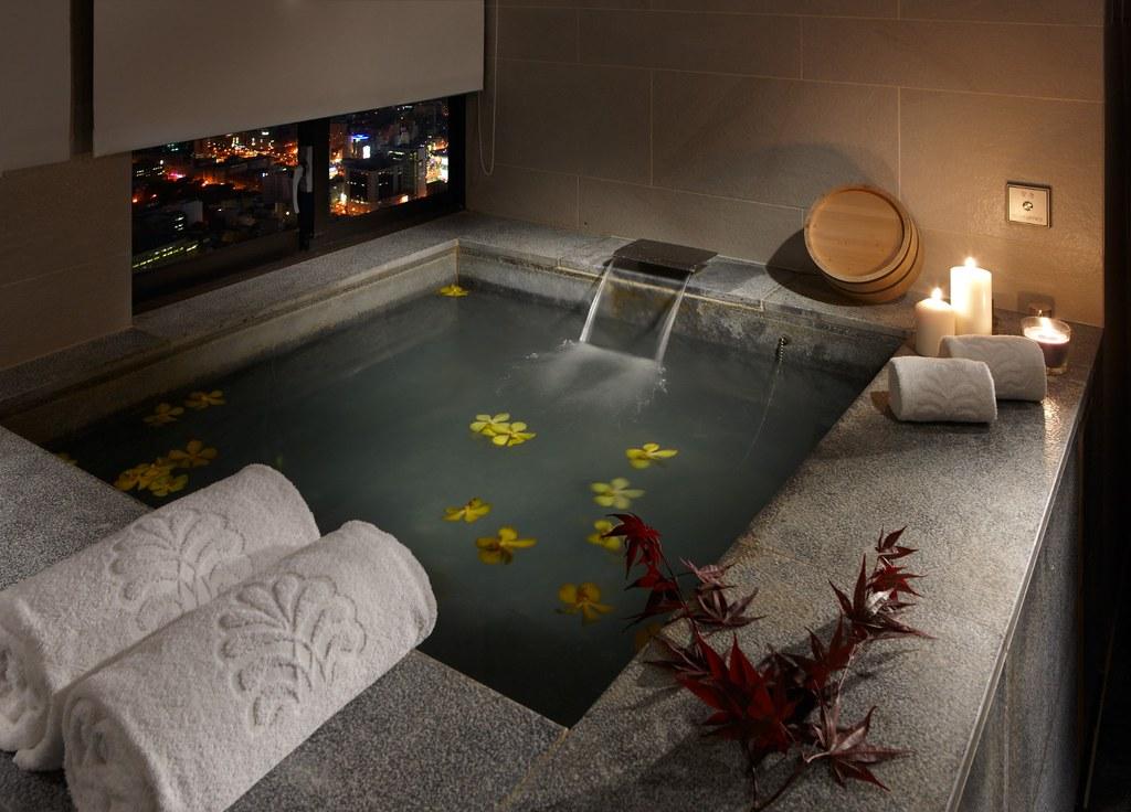 (圖5)《北投老爺酒店》以體現純淨大自然理念為設計出發,營造舒壓與放鬆環境