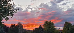 September 20, 2021 - Beautiful sunset in Broomfield. (David Canfield)