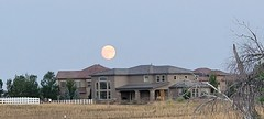 September 20, 2021 - Moonrise in Broomfield. (David Canfield)