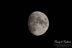 September 17, 2021 - A waxing moon. (Tony's Takes)