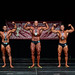 Classic Physique Masters 40+ 2nd Al-Aubiydy 1st Offrey 3rd Chalupa