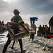 Fishermen in Saint-Louis, Senegal