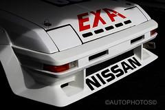 Light n Dark - Nissan EXA Turbo - Historic Sandown 2014 -                                                     7D2_2929