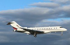 Photo of CS-GLA Bombardier BD-700 Global 6000  NetJets Europe at London Oxford Airport .